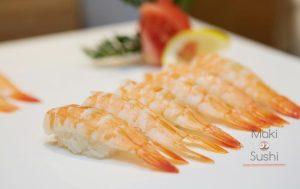Nigiri Sushi aux crevettes