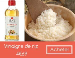 Vinaigre de riz