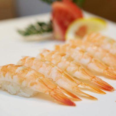 Nigirizushi à la crevette